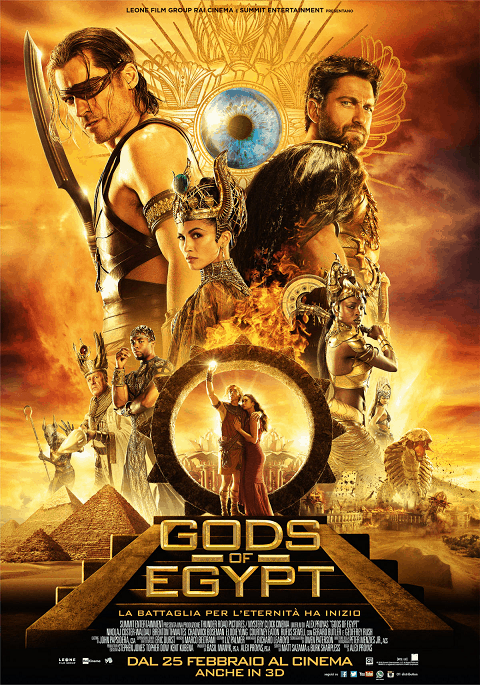 Gods of Egypt (2016) สงครามเทวดา 2016