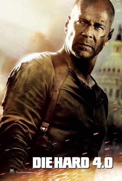 Die Hard 4 โปสเตอร์