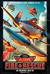 Planes Fire & Rescue (2014) ผจญเพลิงเหินเวหา 2014 โปสเตอร์