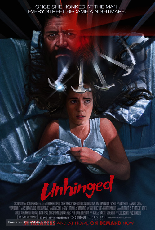 Unhinged (2020) โปสเตอร์